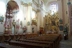 Im Kircheninnenraum