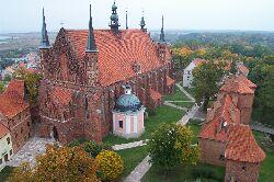 Blick vom Glockenturm in Frombork