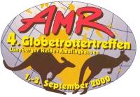 2000-Treffen-Aufkleber