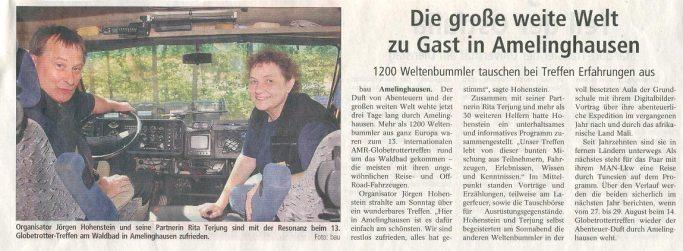 Landeszeitung Lueneburg 2009