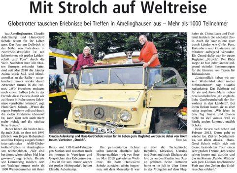 Landeszeitung Lueneburg 2012