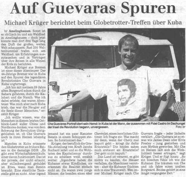 Landeszeitung Lueneburg 1999