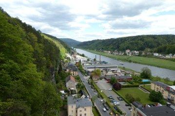 Durch das Elbsandsteingebirge und Bad Schandau...