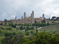 Die Geschlechtertürme in San Gimignano,...