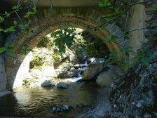 Bei San Gavino - eine Badestelle im Fluss Aliso, sehr erfrischend bei ca. 17° C