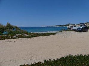 Am Golf von Calvi, ein herrlicher Stellplatz mit...