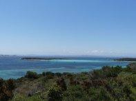 Wunderschöne Bucht für die Yachten vor der Plage de Piantarella...