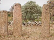 Stationen auf der Menhir-Route: Alignement de Stantari...