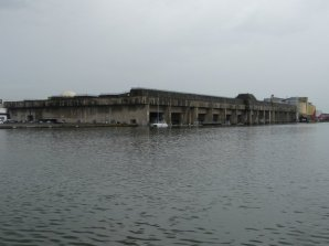 Der deutsche U-Boot-Bunker bei Saint Nazaire
