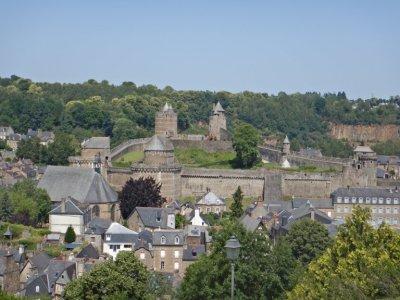Fougères, ein wirklich schöner mittelalterlicher Ort...