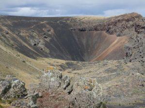 ...im Vulkangebiet Pali Aike, ...