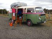 Back to the Roots - dieser VW T2 aus Chile erinnert uns an unsere früheren Reisen.