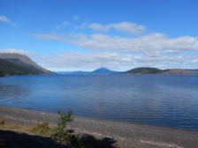 Am Lago Blanco, auf der chilenischen Seite Feuerlands, ...