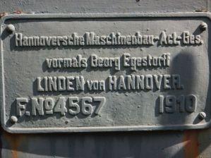 ...gebaut in Hannover, ...