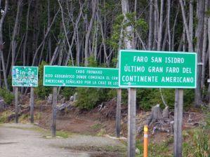 Der südlichste Straßenpunkt des amerikanischen Festlandes...