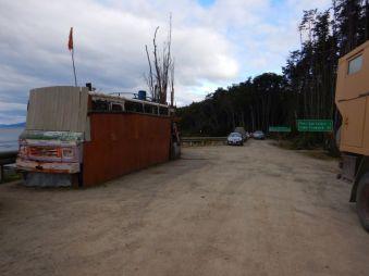 ...auf der Ruta 9 in Chile - Fin de Camino.