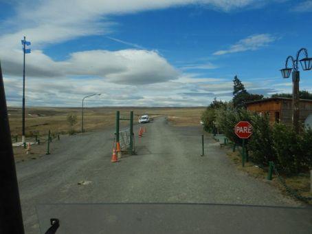 Unkomplizierte Abfertigung an der chilenisch-argentinischen Grenze bei Landa Carrera