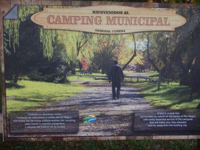 Unsere Nachbarn auf dem Camping Municipal bei General Conesa ...