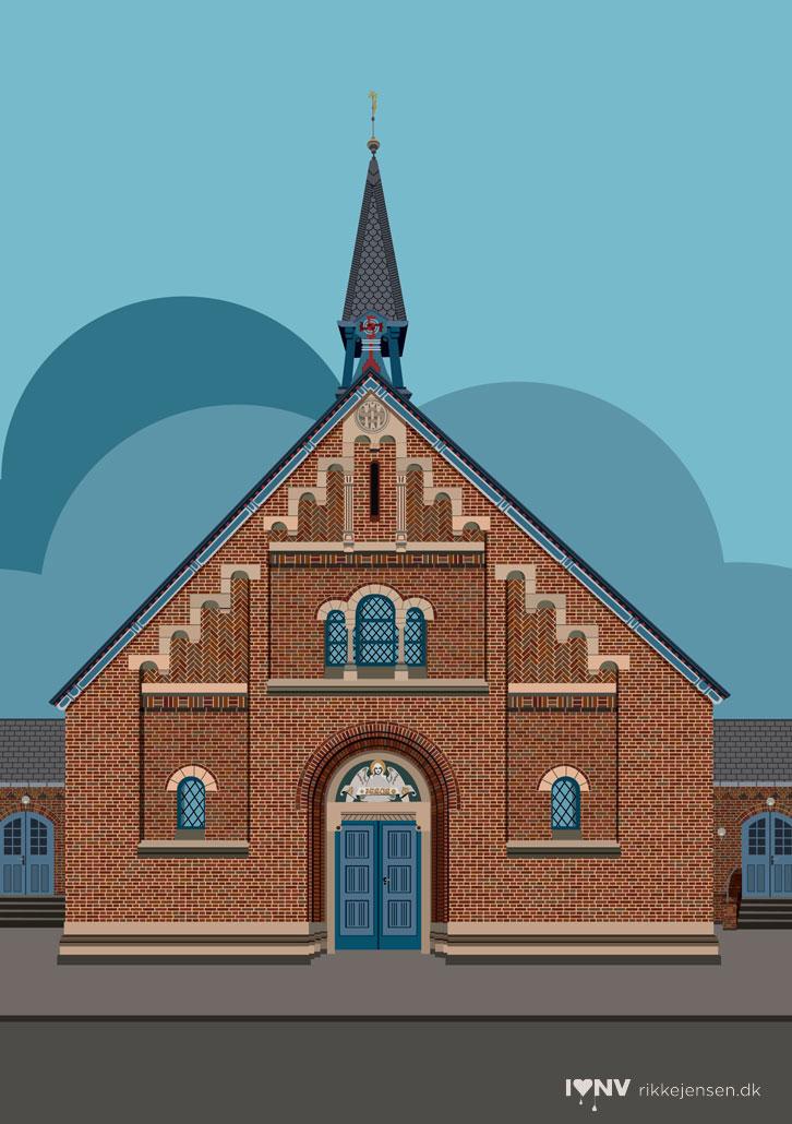 Kapernaumskirken på Frederikssundsvej