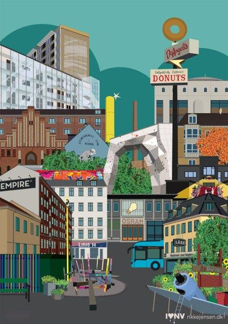 Nørrebro Empire collage