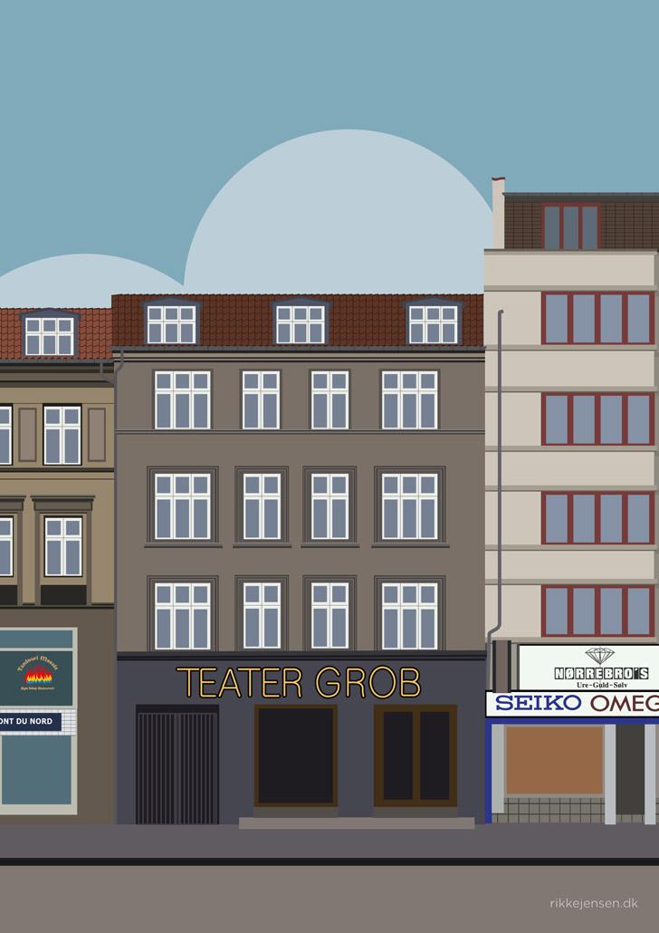Nørrebrogade Teater Grob
