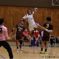 【ハンドボール部】初戦を白星でスタート!1部昇格への第一歩を踏み出した!