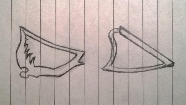 Harp hangertje (1)