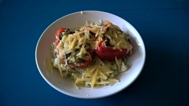 Gevulde paprika (2)