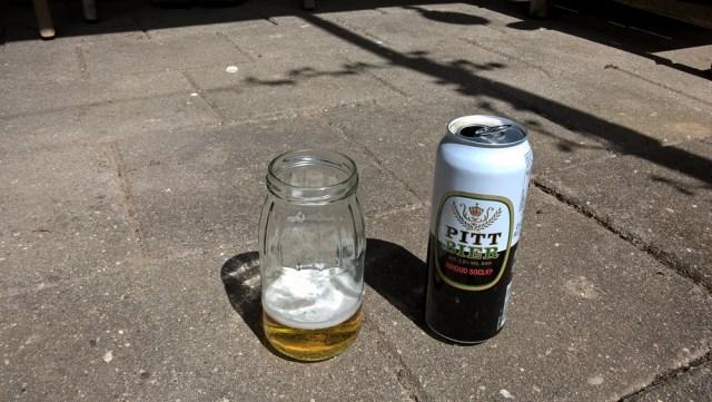 Slakken tegen gaan met bier