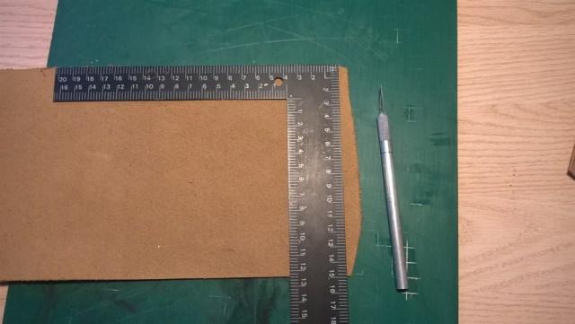 Leren buidel zelf maken (2)