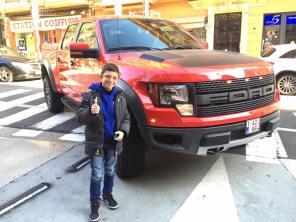 Ford Raptor 700 cv Gimmi Bruni