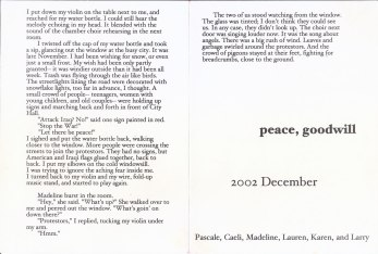 "Violin Christmas Card 2002 - inside; text by Lauren (Click ""view full size"" in lower right for clear copy)"