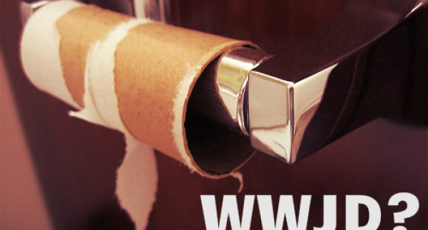 funny what would jesus do wwjd toilet paper roll rileyadamvoth