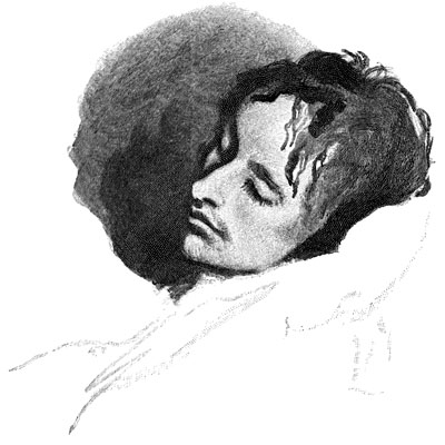 John Keats in His Last Illness, by Joseph Severn