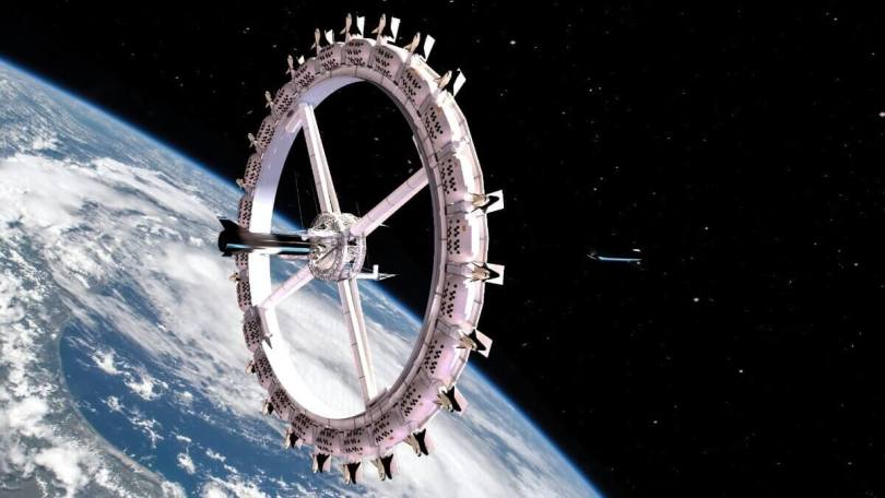 Space hotel - Orbital Assembly Corporation