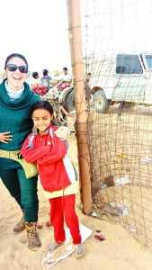 Visita a los campamentos de refugiados saharauis, diciembre 2017