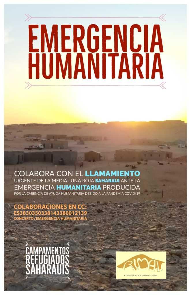 EMERGENCIA HUMANITARIA en los Campamentos de Refugiados saharauis