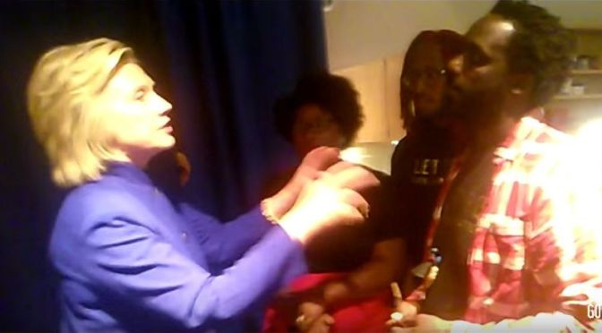 White neoliberal swagger: Hillary Clinton meets BLM | #BlackLivesMatter on Blog#42