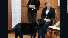 MerkelPutinDog1