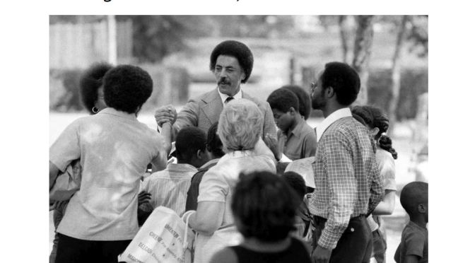 The New York Times' Obituary for The Late Ron Dellums