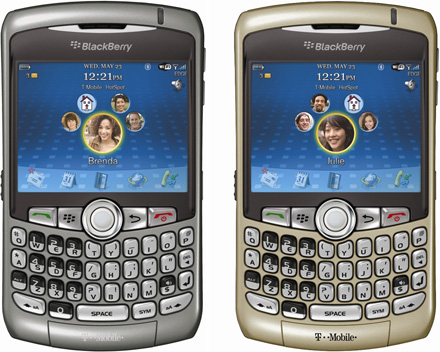 T-Mobile BlackBerry Curve 8320 Press Release…  Better Late Than Never