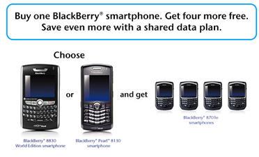 Bell Free BlackBerry Promotion