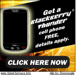 Free BlackBerry Thunder?