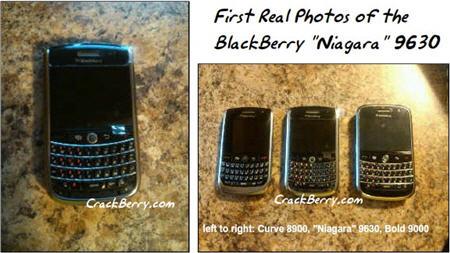 BlackBerry Niagara 9630 Photos Hit The Web