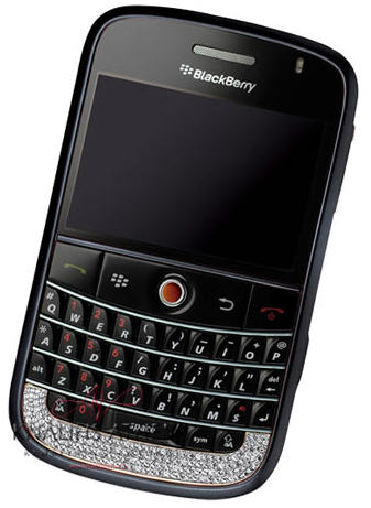 Diamond Encrusted BlackBerry Bold…