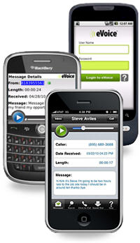 eVoice Releases BlackBerry App For Its Virutal Phone Number Customers