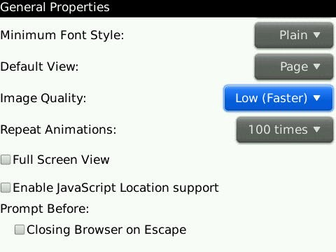 Quick Tip: Increase Your BlackBerry Browser Speed!
