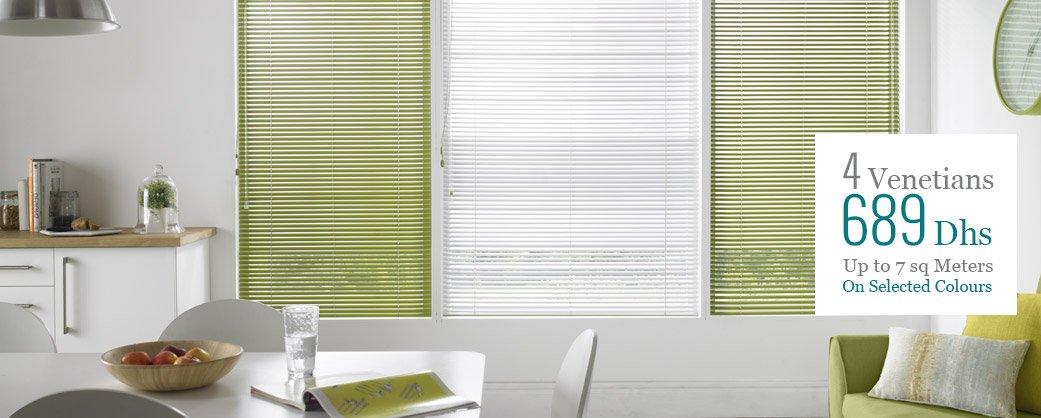 venetian blinds offer