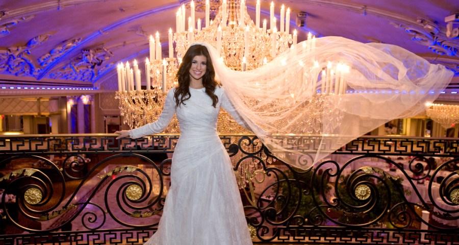 Wedding photo A Bride at the Venetian NJ ©2012 Tatiana Valerie