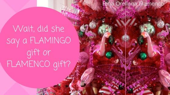 Flamingo or Flamenco Gift?
